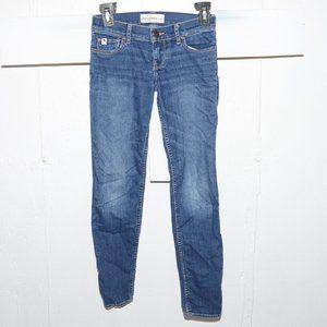 Abercrombie skinny girls jeans size 12 x 26